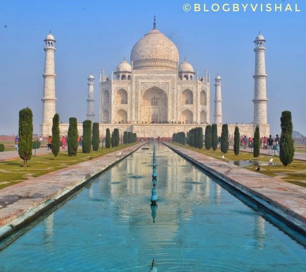 Taj Mahal Front View
