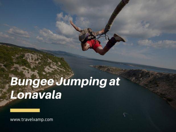 Bungee Jumping at Lonavala