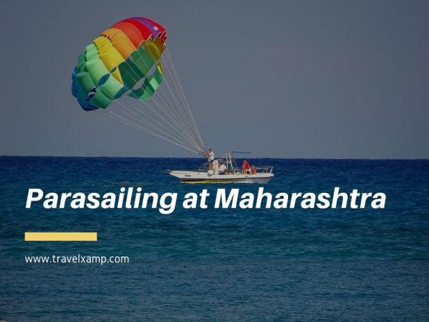 Parasailing at Maharashtra