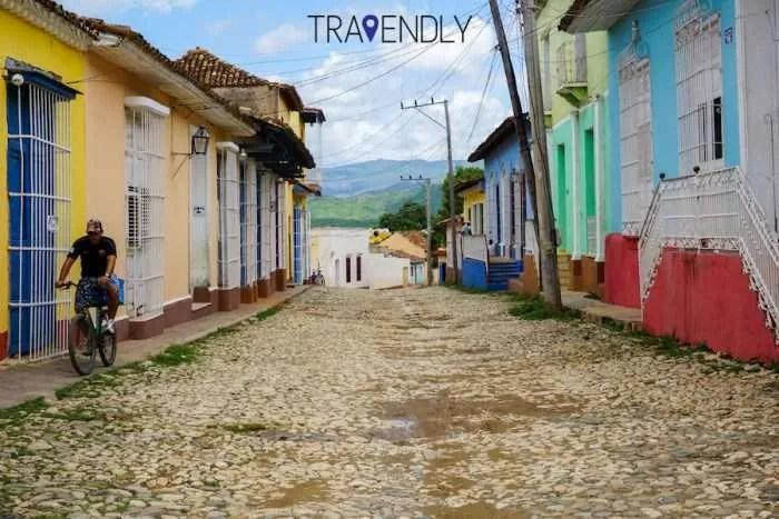 Cobblestone streets of Trinidad Cuba