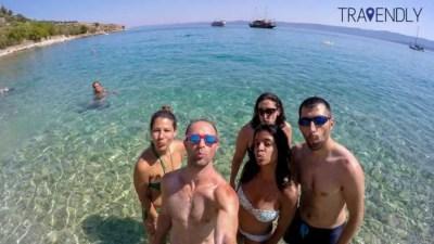 Selfie in Hvar, Croatia