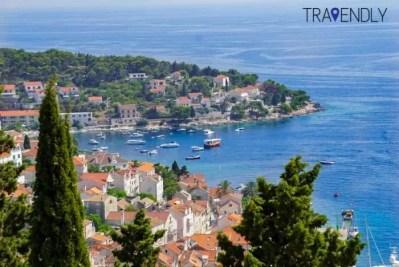 Hvar Town, Croatia views