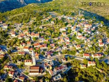 Village of Milna on Brac island, Croatia