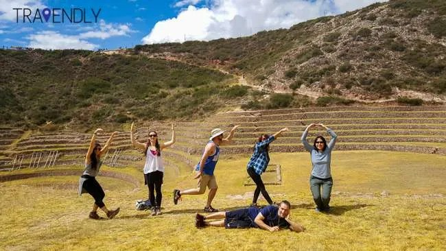 Spelling out Cusco in Moray