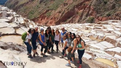 Exploring the salt mines or Maras