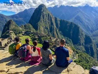 Taking in the wonder of Machu Picchu