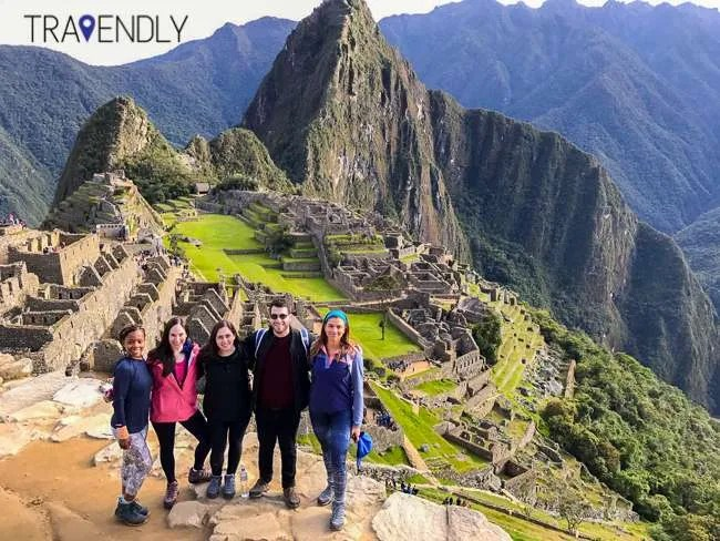 Obligatory Machu Picchu group shot