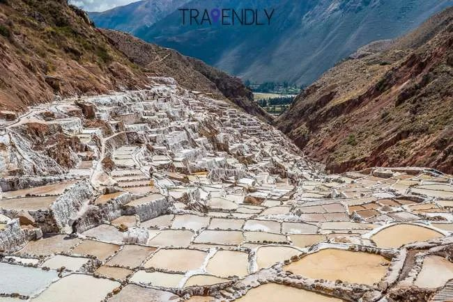 Salt mines of Maras in the Peruvian Andes