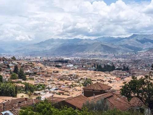 City of Cusco Sacred Valley Peru