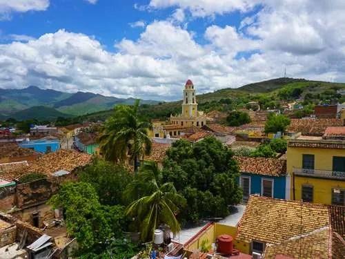 Views of Trinidad from church