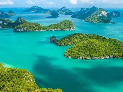 Ang Thong islands Thailand