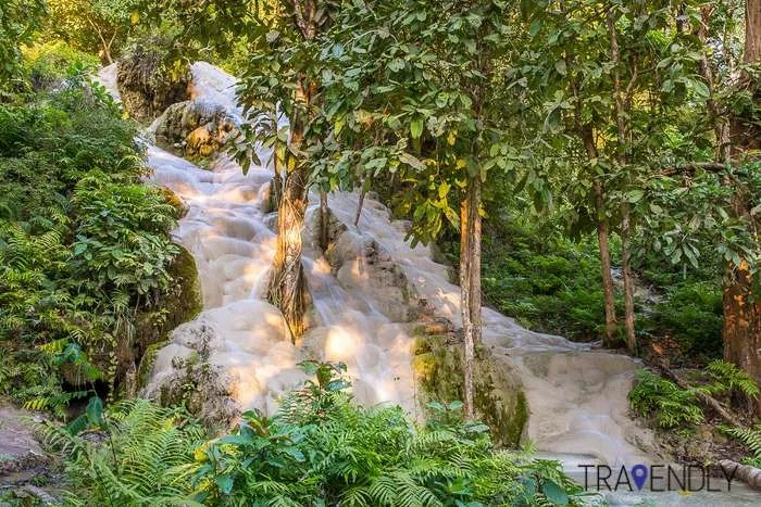 Namtok Bua Tong Sticky Waterfall Chiang Mai Thailand group tour