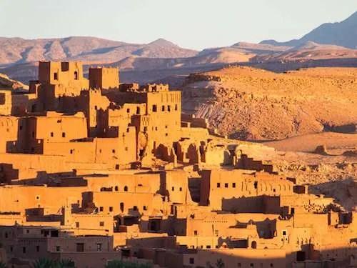 Ait Benhaddou desert city Morocco