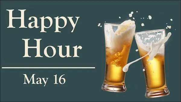 happy hour may 16 2019