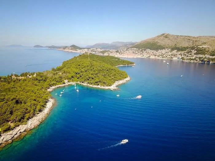 Lokrum island Croatia