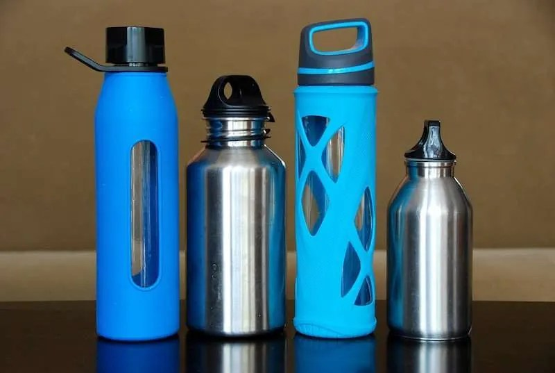 water bottle collection hydration