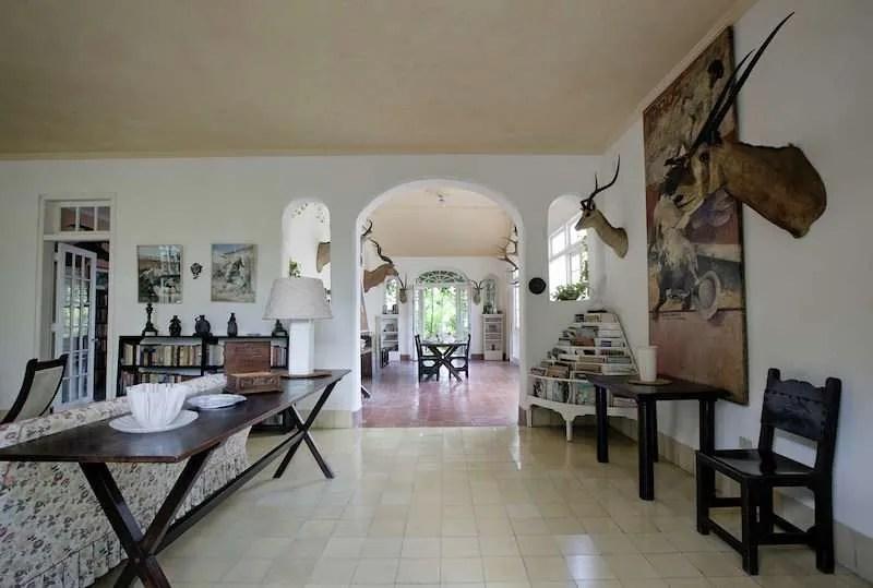 Ernest Hemingway house inside