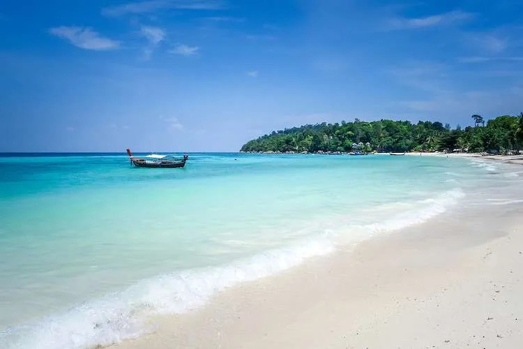 Beautiful beach in Pattaya