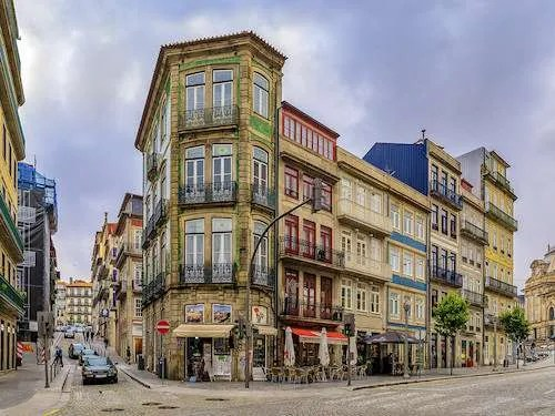 traditional houses Porto Portugal