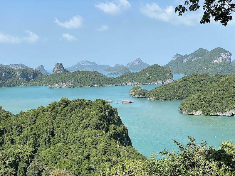 Ang Thong National Park views