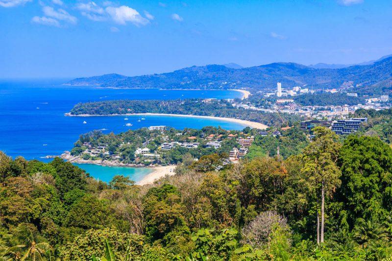 Kata Noi Karon beach in Phuket Thailand