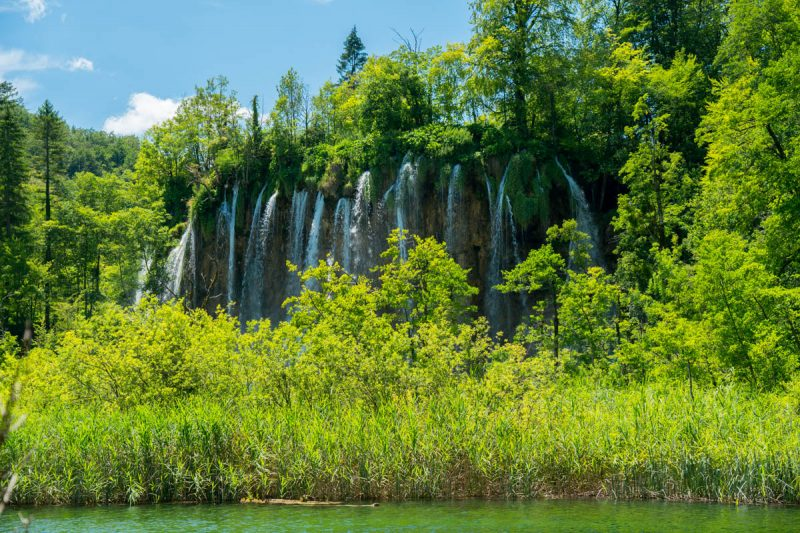 Another gorgeous waterfall in Plitvice