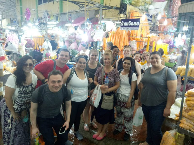 Shopping for food in Chiang Mai Thailand