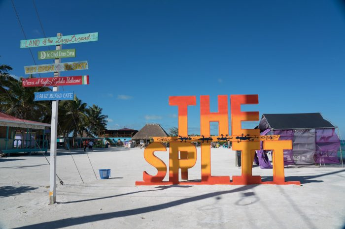 The Split on Caye Caulker