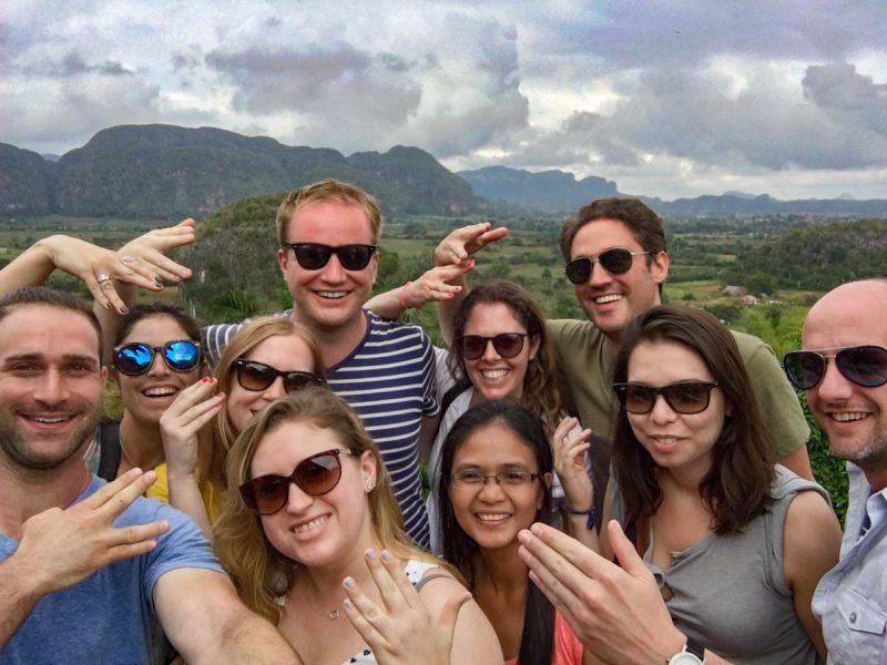 Selfie in Vinales Cuba
