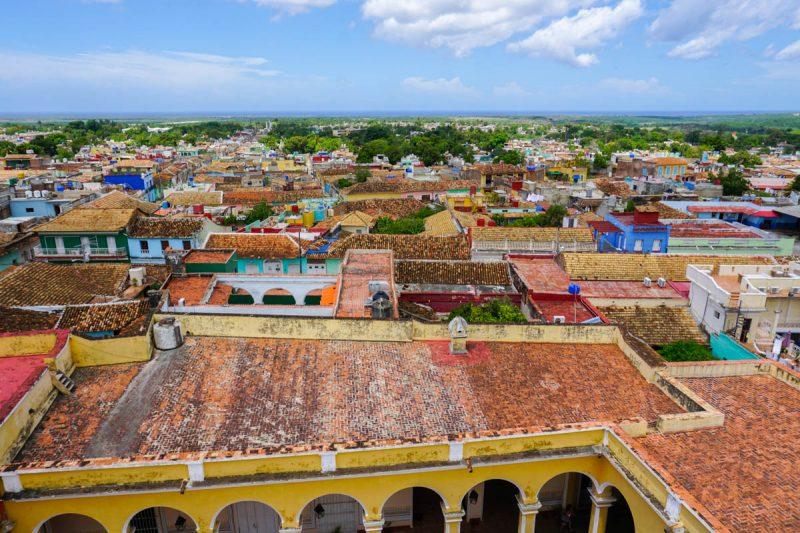 Rooftops of Trinidad Cuba
