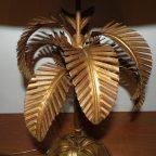 Gilt Palm Lamp