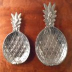 Silver Pineapple Dishes