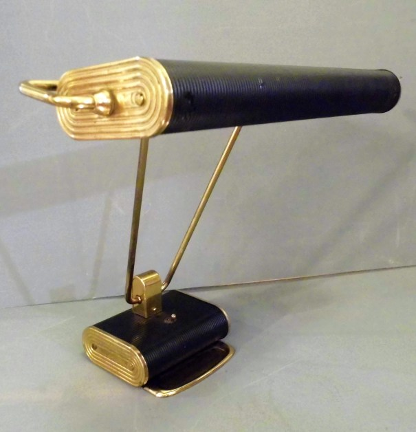 Black And Gold Jumo Lamp
