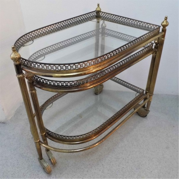 Brass Drinks Trolleys