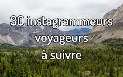 30 instagrameurs voyageurs à suivre