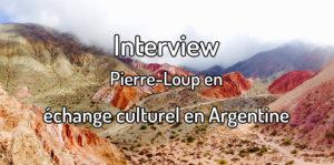 Faire un échange culturel en Argentine