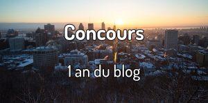 Concours 1 an du blog voyage