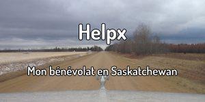 Helpx mon bénévolat en Saskatchewan