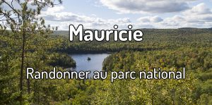 Randonner au parc national de la mauricie