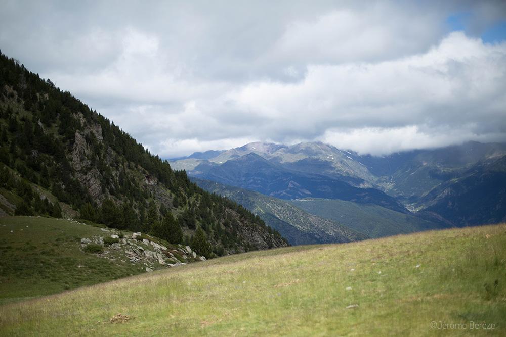 Les montagnes à Andorre