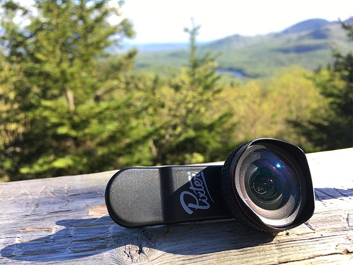 Objectifs pour de la photographie avec smartphone - Objectif Pixter Grand Angle Pro