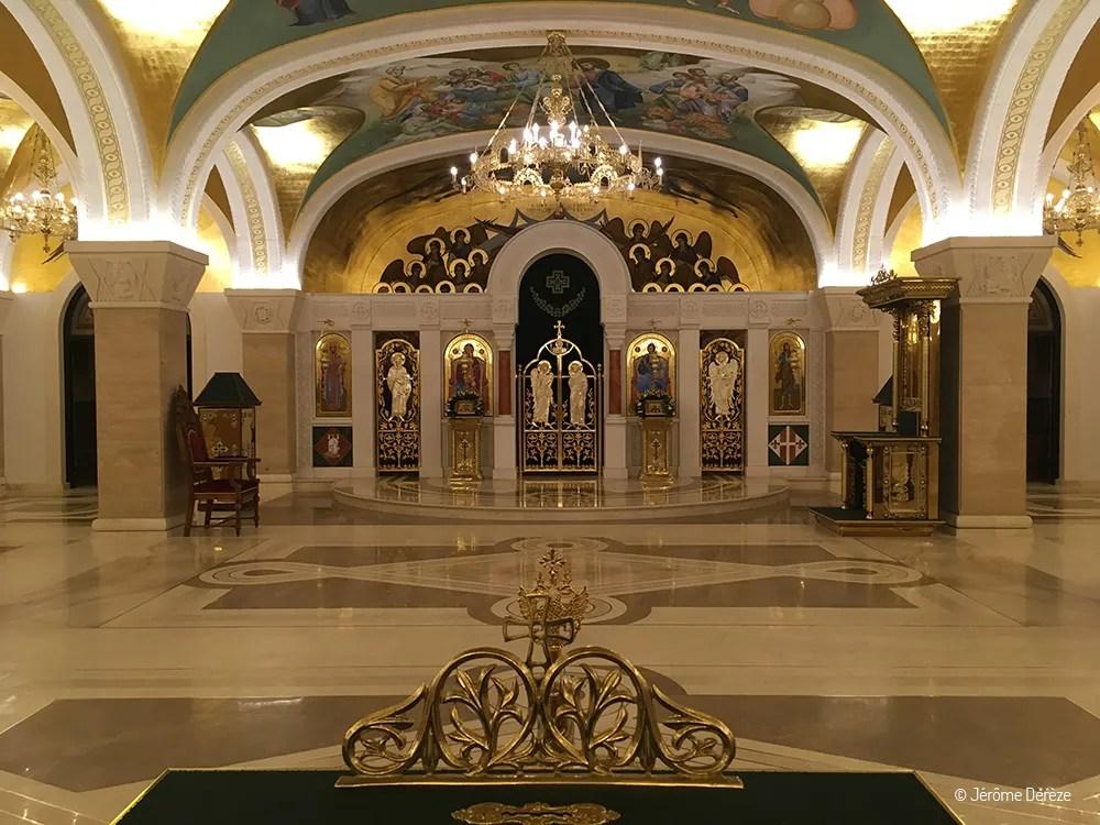 Lieux à visiter à Belgrade - La crypte de l'Eglise Saint-Sava