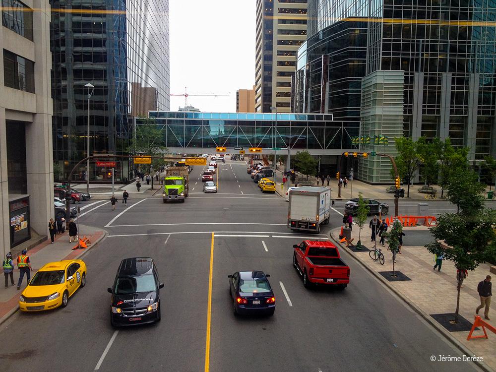 Voyager dans la ville de Calgary