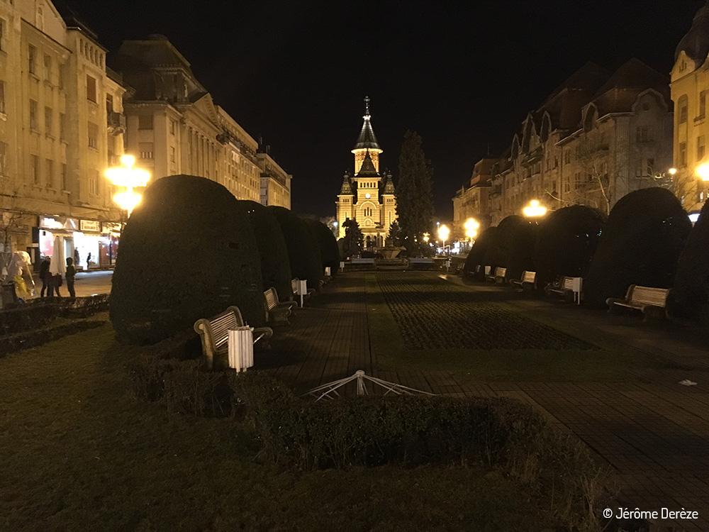 5 lieux à visiter à Timisoara - Victory square - Piata Victoriei