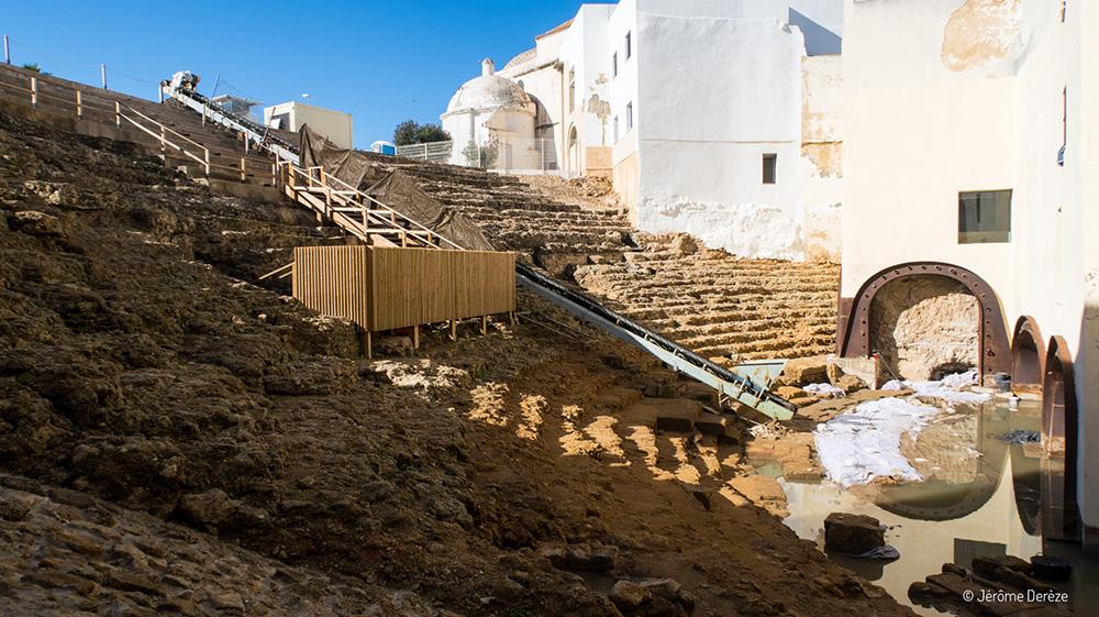 Musées gratuits à Cadix - Théâtre romain