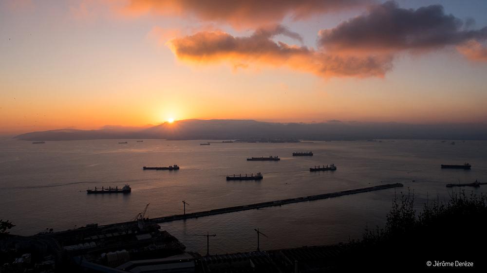 Visiter Gibraltar - Randonnée et coucher de soleil