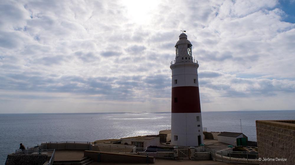 Visiter Gibraltar - Europa Point - La Pointe de l'Europe et le détroit de Gibraltar