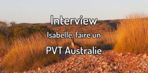 Faire un PVT Australie
