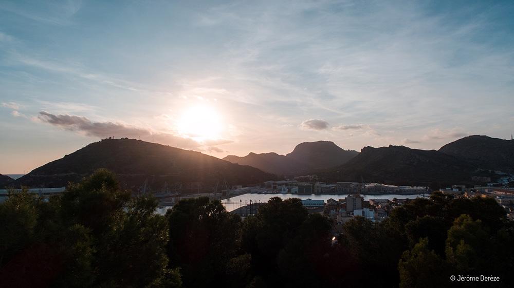 Que visiter à Carthagène ? Vue depuis le Château de la Conception