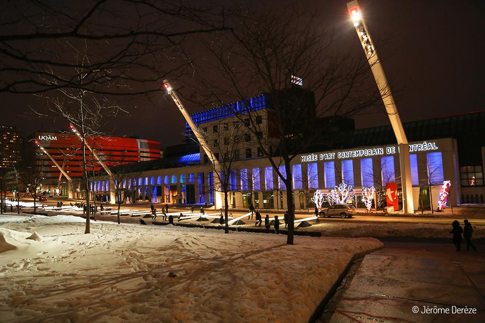 Lieux à visiter à Montréal - Visiter Place des Arts